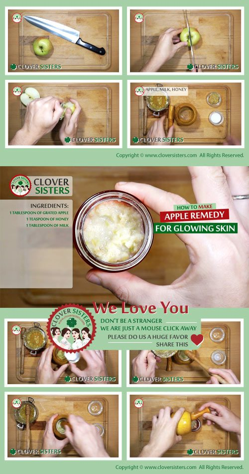 apple remedy glowing skin