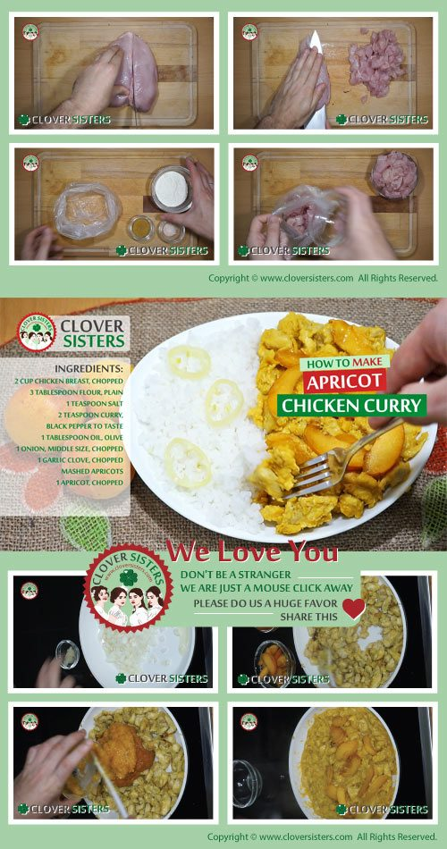 apricot chicken curry recipe