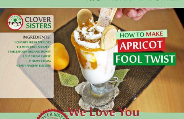 apricot fool twist recipe