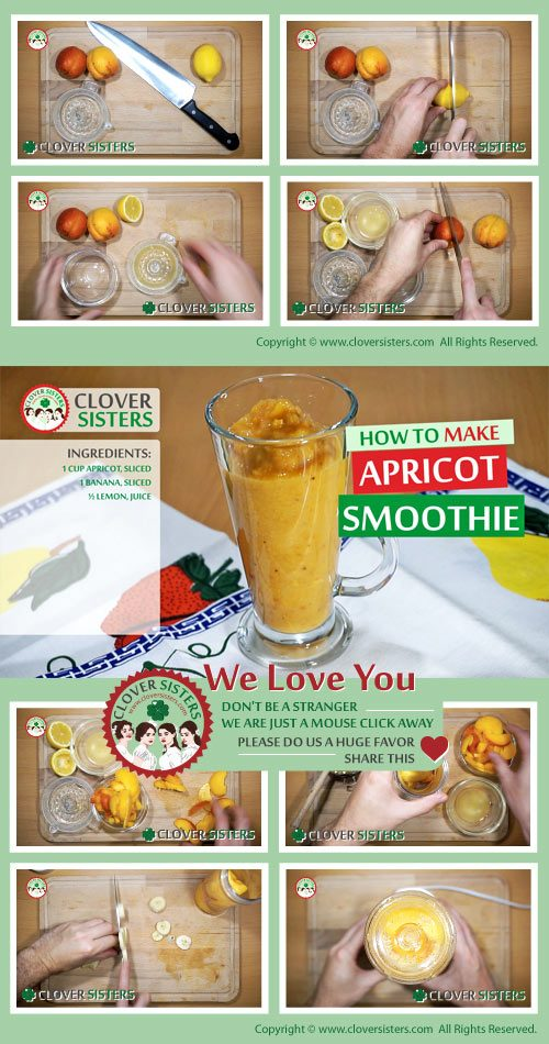 apricot smoothie better digestion recipe