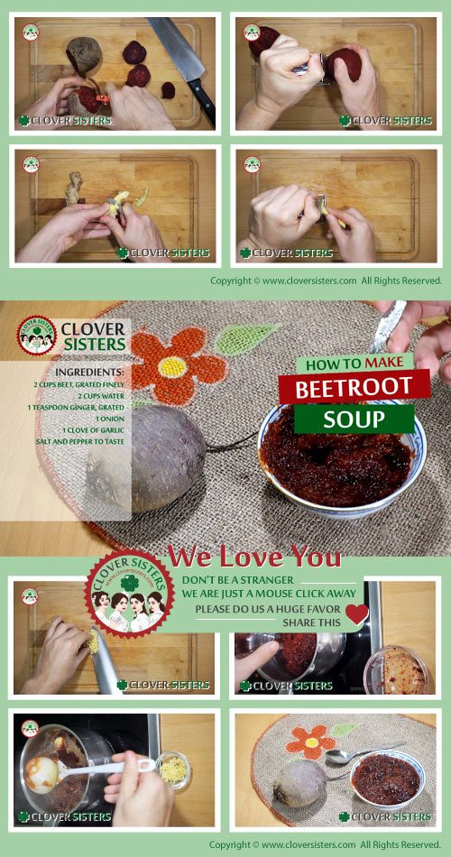 beetroot soup fight iron deficiency anemia recipe