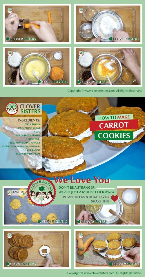 carrot cookies recipe