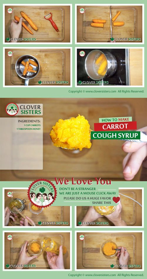 carrot cough syrup recipe