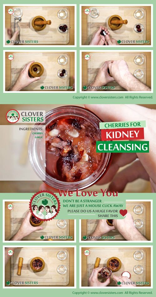 cherries kidney cleansing remedy