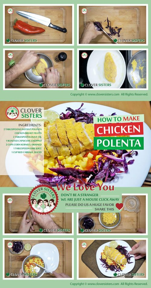 chicken polenta recipe