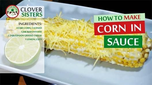 corn sauce recipe