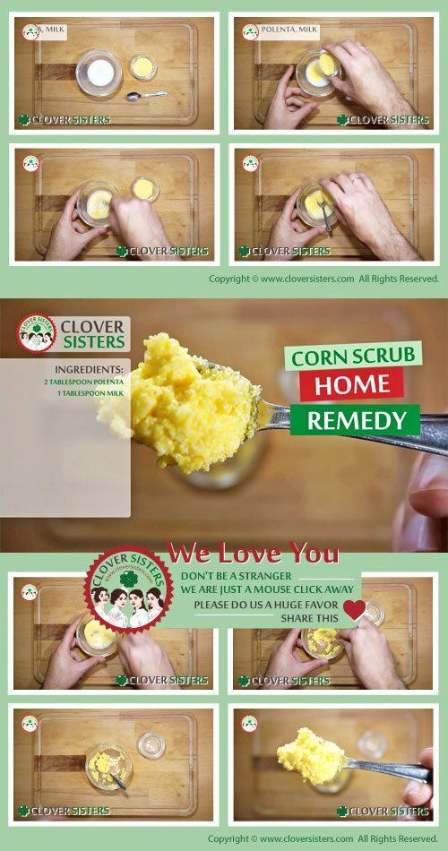 corn scrub recipe