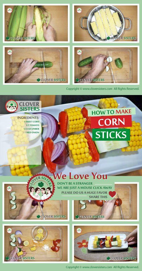 corn sticks recipe