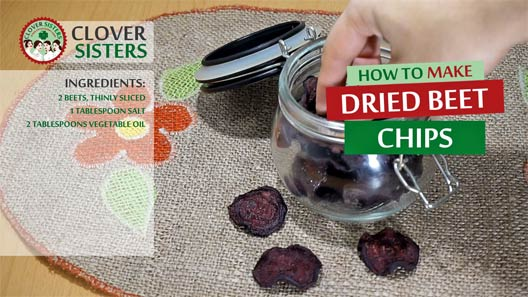 dried beet chips recipe