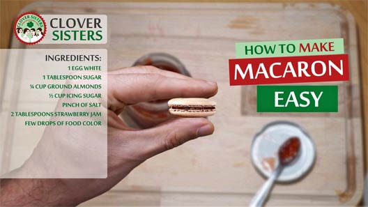 easy strawberry macaron recipe
