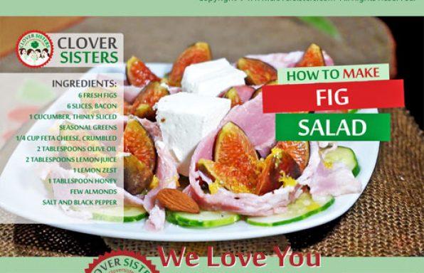 fresh fig salad recipe