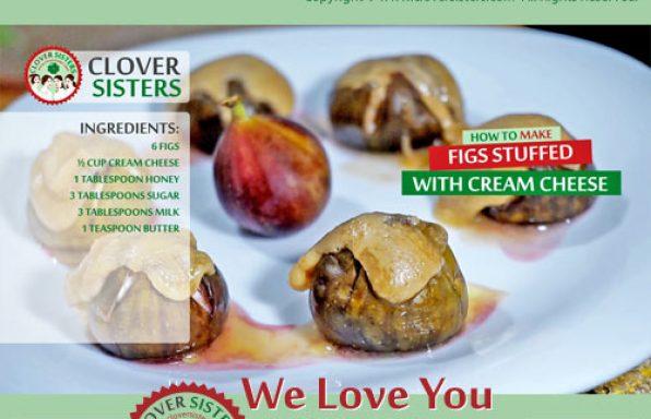 figs stuffed cream cheese recipe