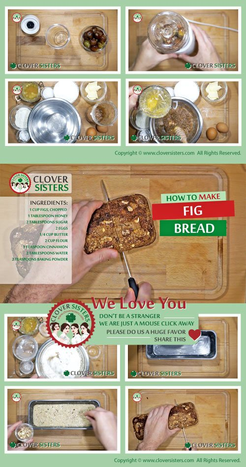 fresh fig bread recipe