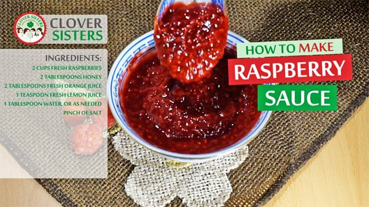 fresh raspberry sauce recipe