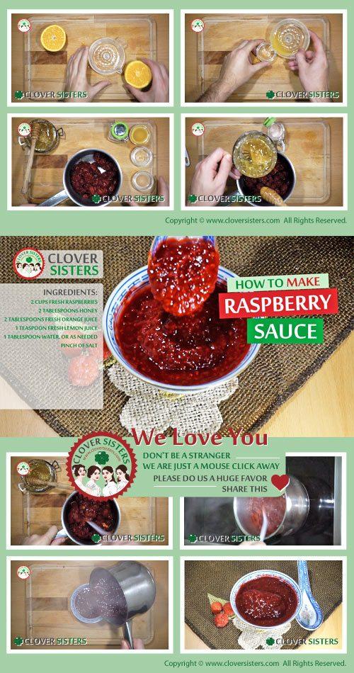 fresh raspberry sauce recipe