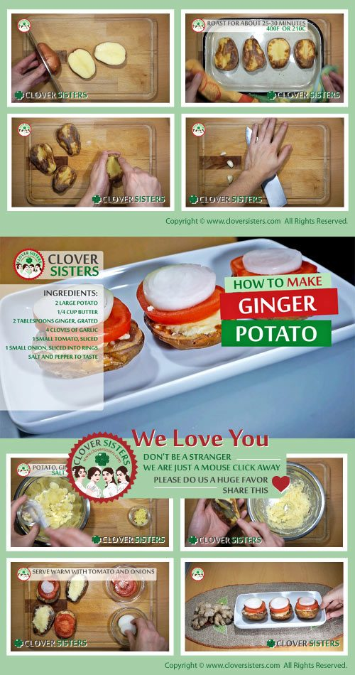ginger potato recipe