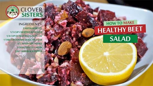 healthy beet salad recipe