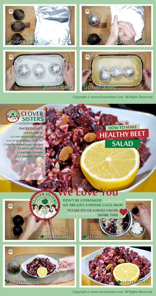 healthy beet salad recipe