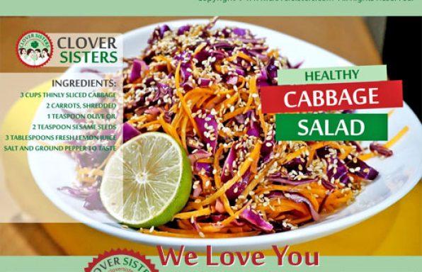 healthy cabbage salad recipe