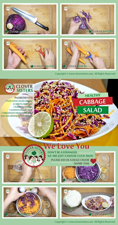 healthy cabbage salad recipe