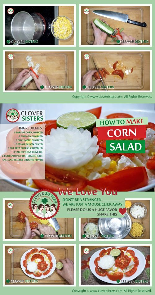 healthy corn salad recipe