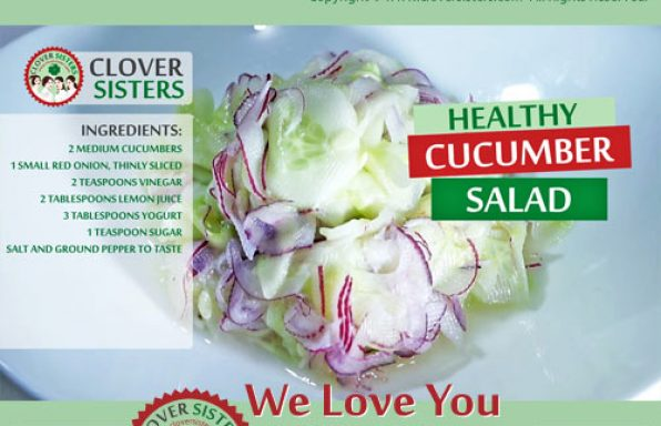 healthy cucumber salad recipe