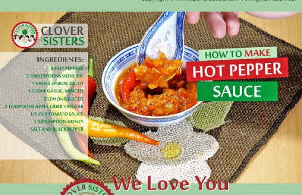 healthy hot pepper sauce reipe