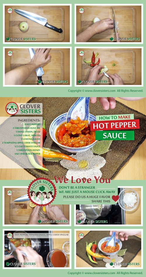 healthy hot pepper sauce reipe