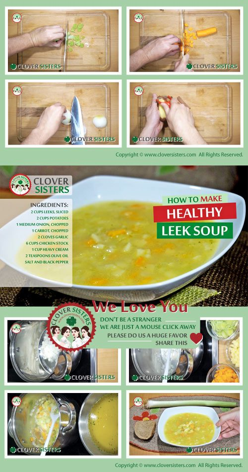 healthy leek soup recipe