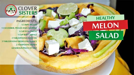 healthy melon salad recipe