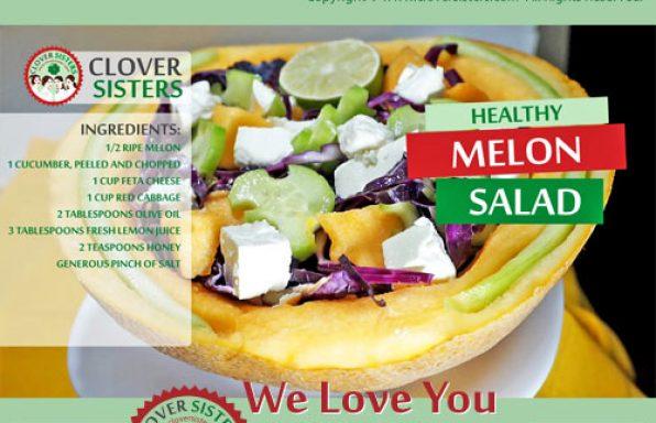 healthy melon salad recipe