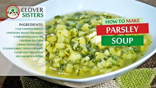 healthy parsley soup recipe