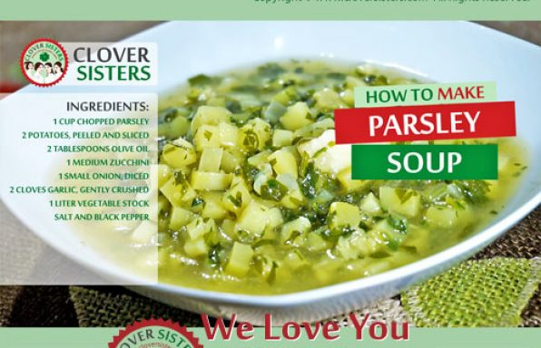 healthy parsley soup recipe
