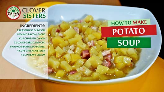 healthy potato soup recipe