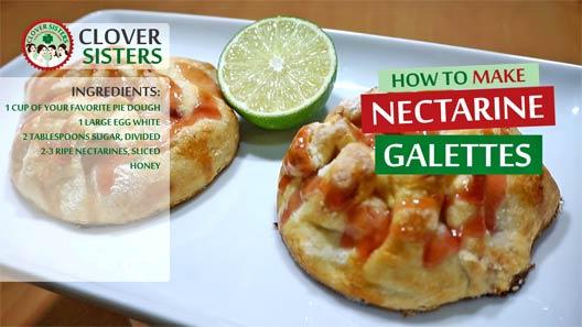 nectarine galettes recipe