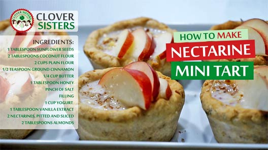 nectarine mini tart recipe