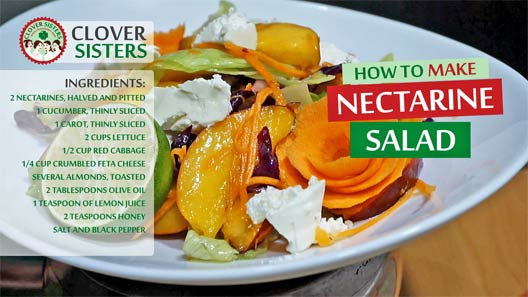 nectarine salad recipe