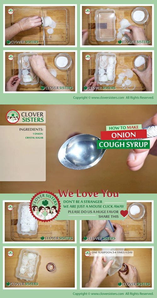 onion cough syrup remedy