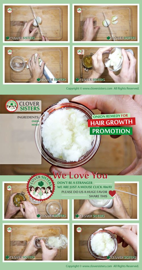 onion remedy hair growth promotion