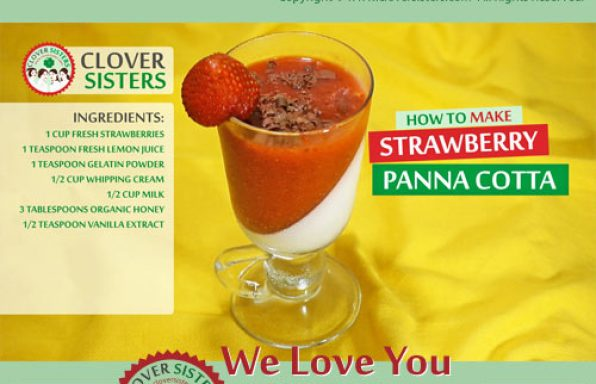 panna cotta strawberry recipe