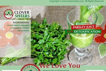 Health and beauty benefits of parsley
