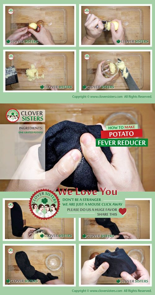 potato fever reducer home remedy