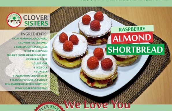 raspberry almond shortbread recipe