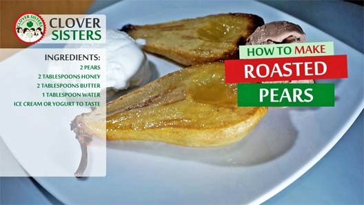 roasted pears recipe