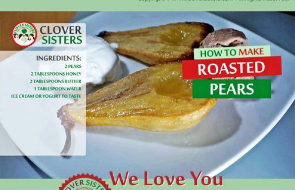 roasted pears recipe