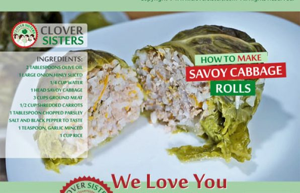 savoy cabbage rolls recipe