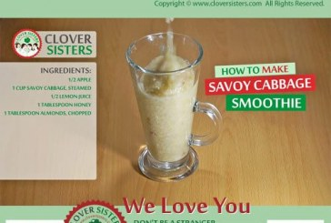 Health and beauty benefits of savoy cabbage