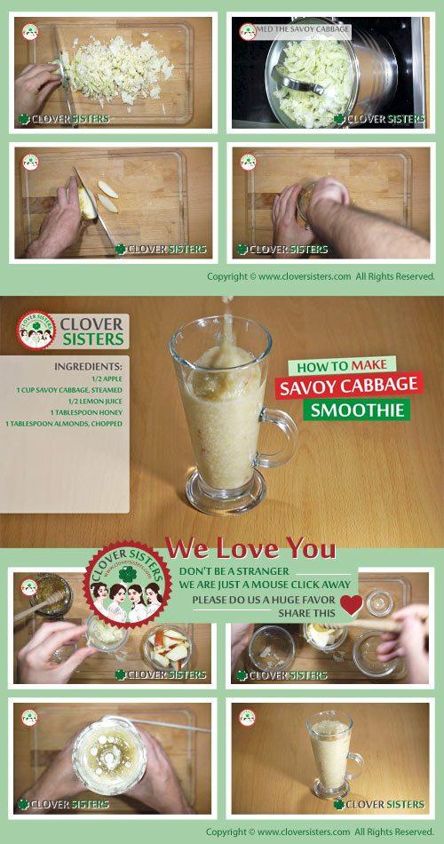 savoy cabbage smoothie recipe