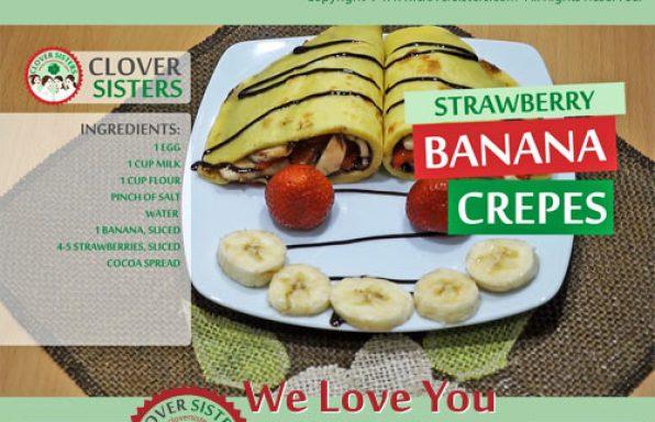 strawberry banana crepes recipe