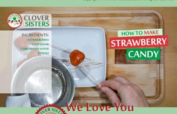 strawberry candy recipe